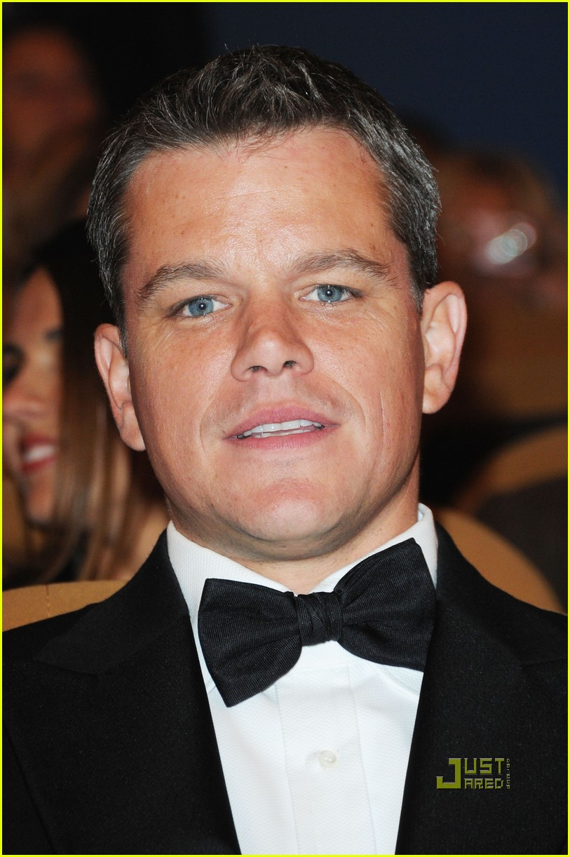 Matt Damon Informant Matt Damon Premieres 39 The