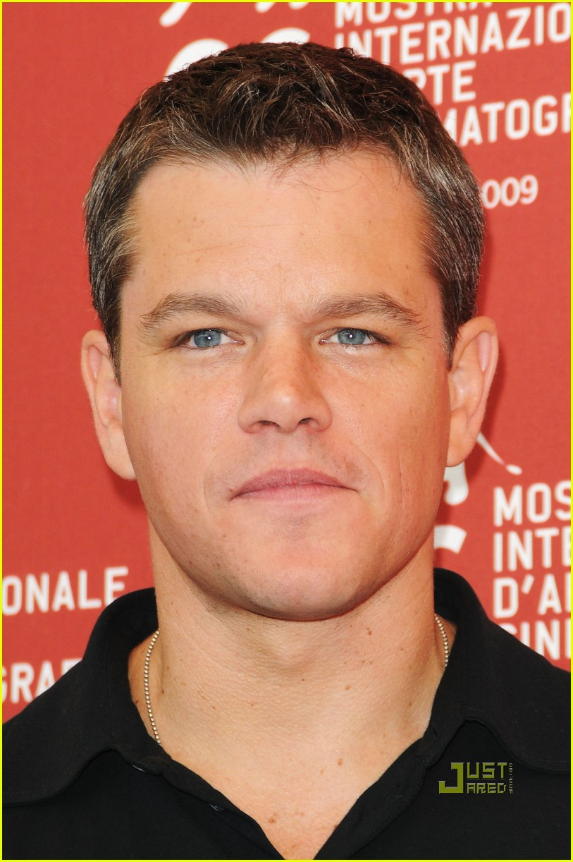 Matt Damon Premieres 'The Informant!' In Venice