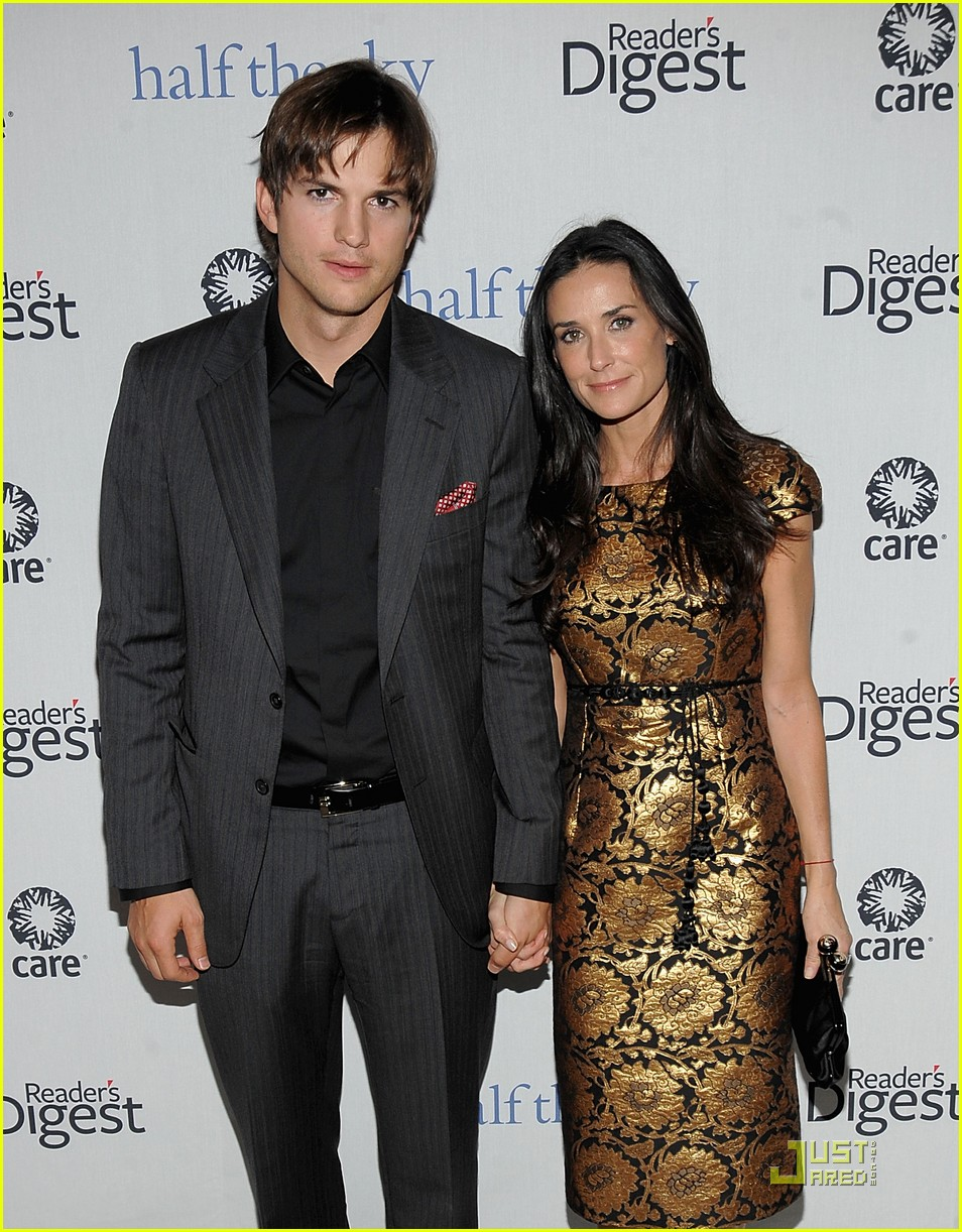 ashton kutcher demi moore half the sky 16