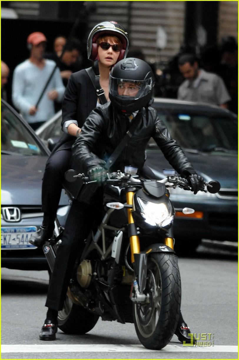 shia labeouf carey mulligan motorcycle 10