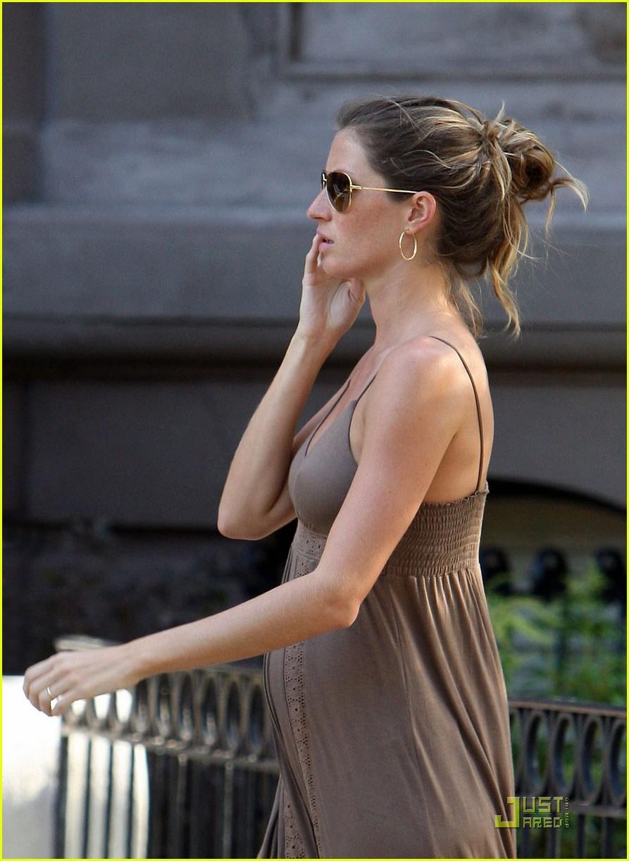 Gisele Bundchen: Maternity Dressed Up Gisele Bundchen