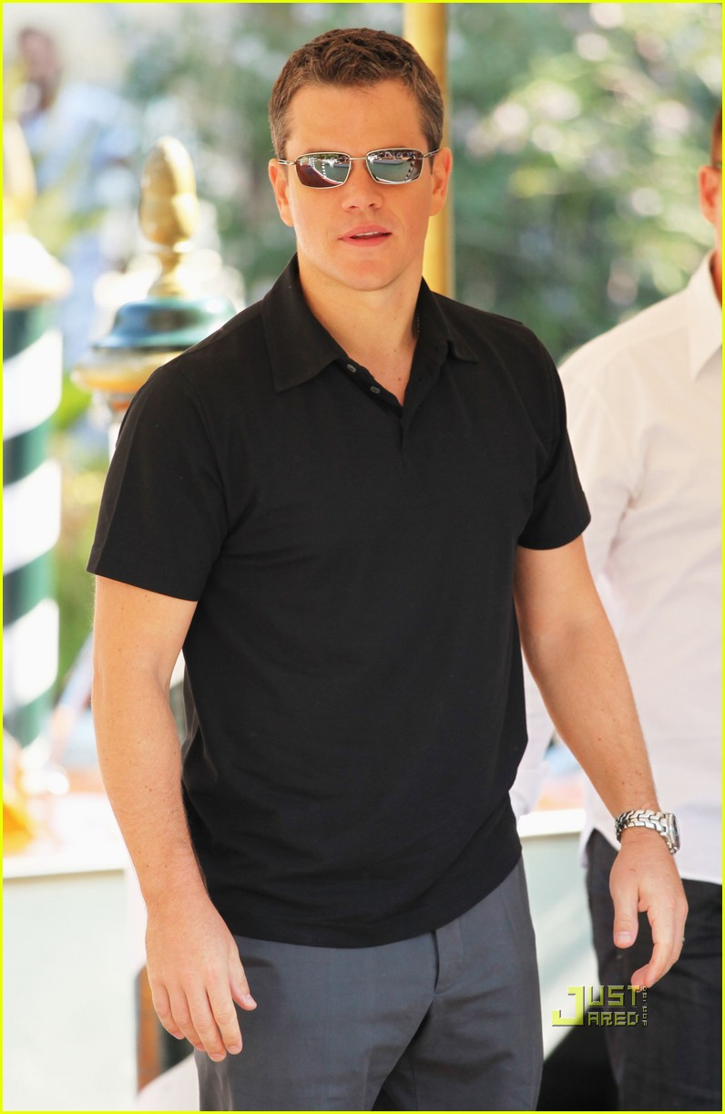 Matt Damon Informant Matt Damon Informant Venice