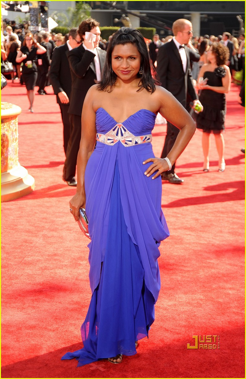 mindy kaling emmy awards 2009 01