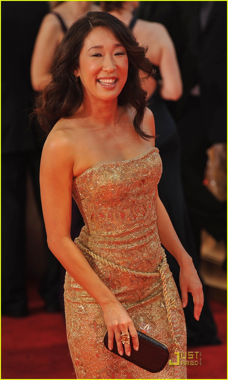 sandra oh emmy awards 2009 04