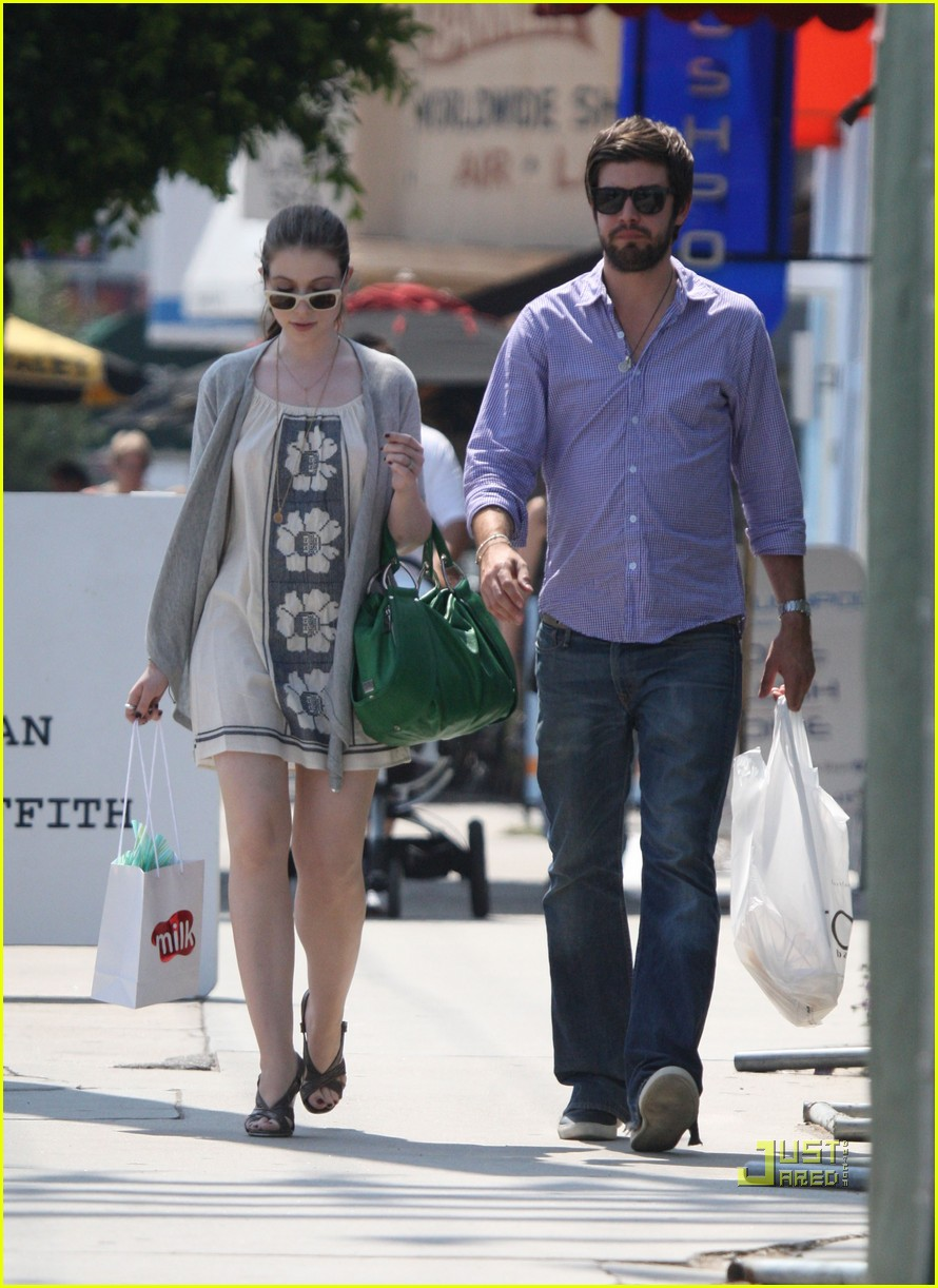michelle trachtenberg engaged scott sanford 08