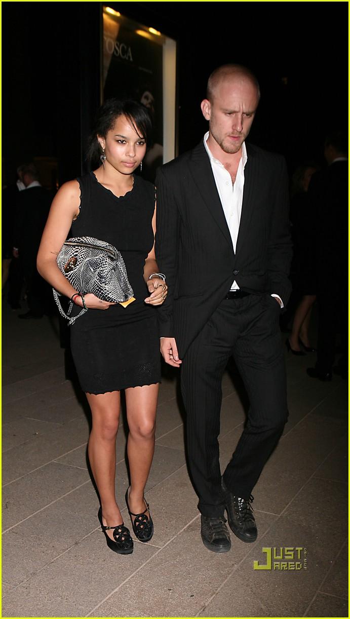 Zoe Kravitz & Ben Foster: Tosca Twosome: Photo 2240172 ...