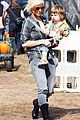 christina aguilera visits a pumpkin patch 13