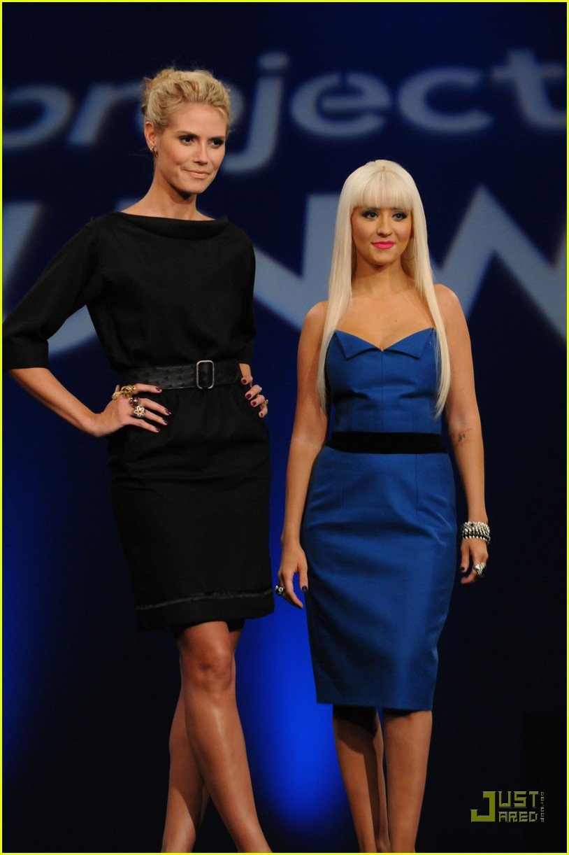christina aguilera project runway 01