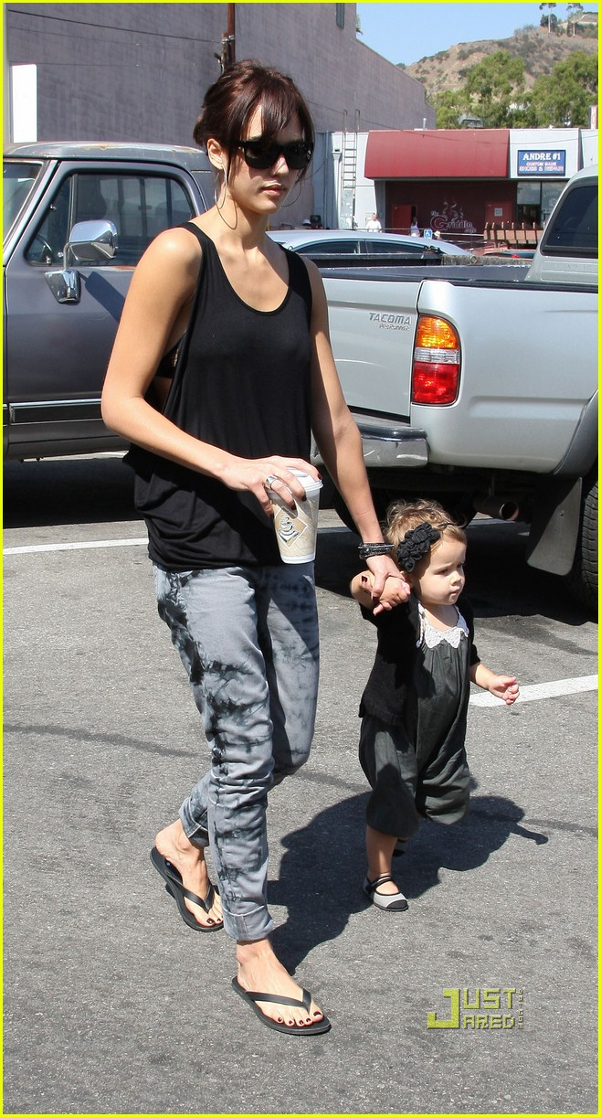 jessica alba cash warren griddle cafe 03
