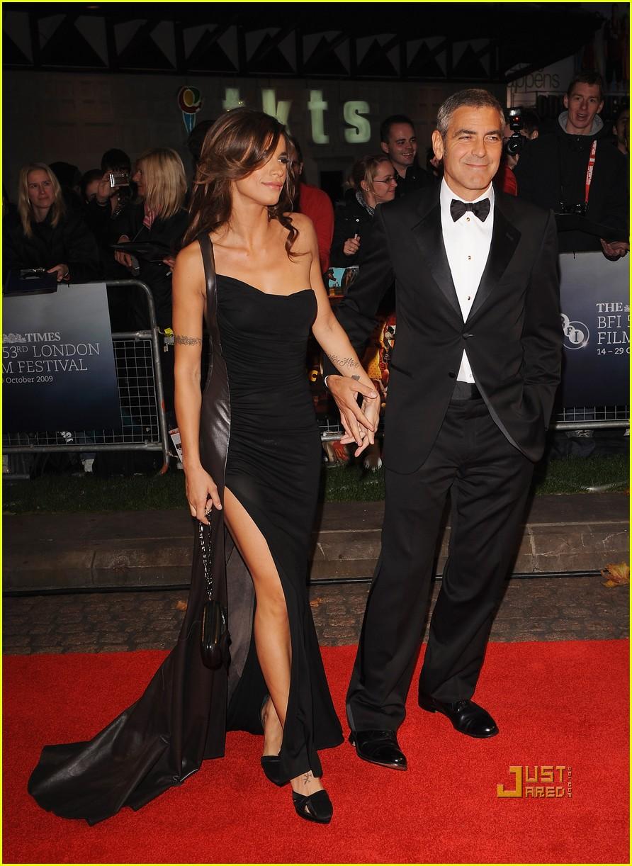 George Clooney Amp Elisabetta Canalis Fantastic Mr Fox