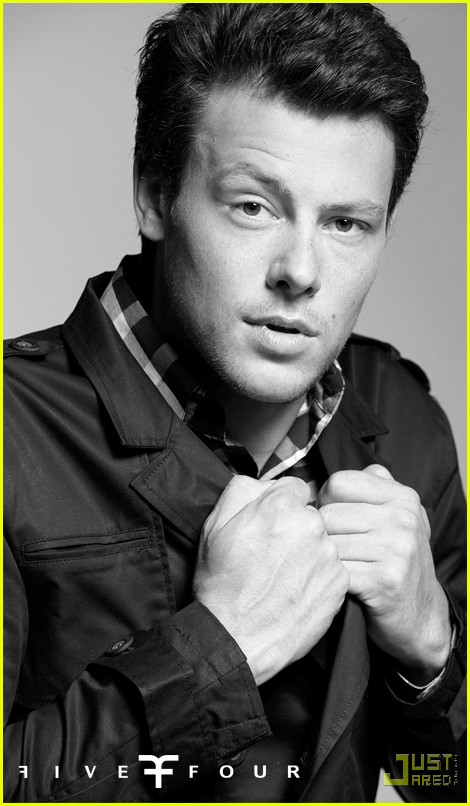 cory monteith five four ad campign 02
