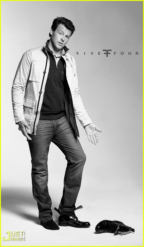 cory monteith five four ad campign 042291492