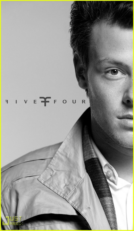 cory monteith five four ad campign 05