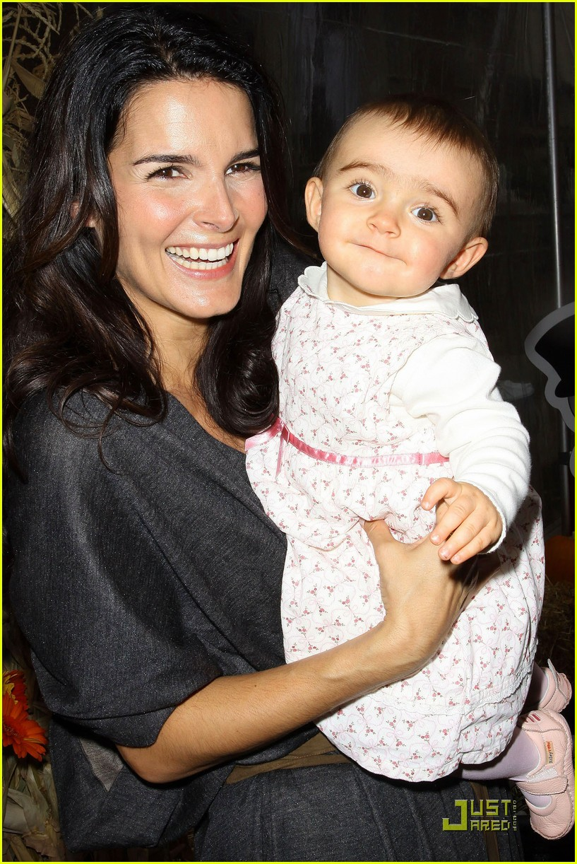 angie harmon celebrates chocolate milk 172285722