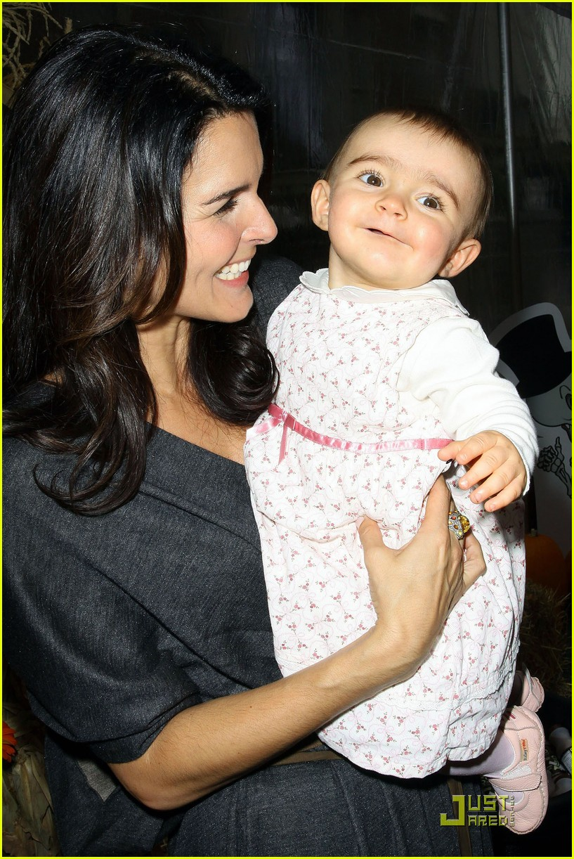 angie harmon celebrates chocolate milk 30