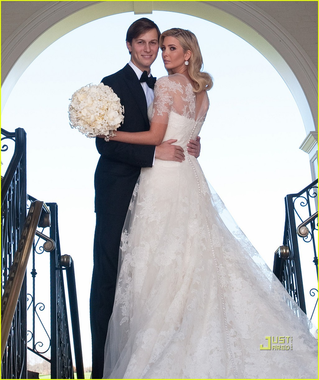 Full Sized Photo of ivanka trump wedding pictures first look 01 ...