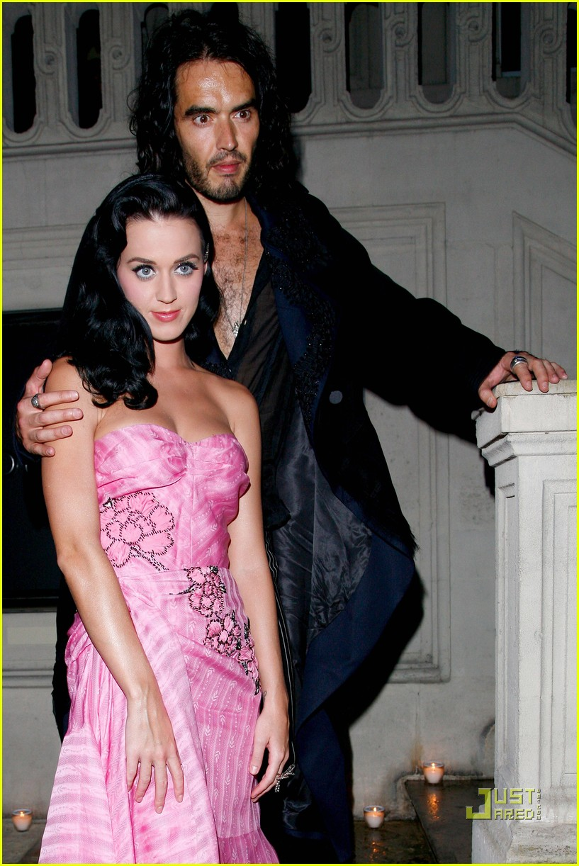 Russell Brand couple