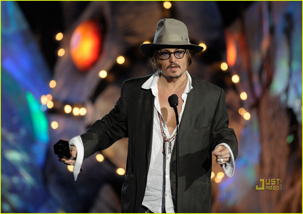 johnny depp keith richards rock immortal scream awards 11