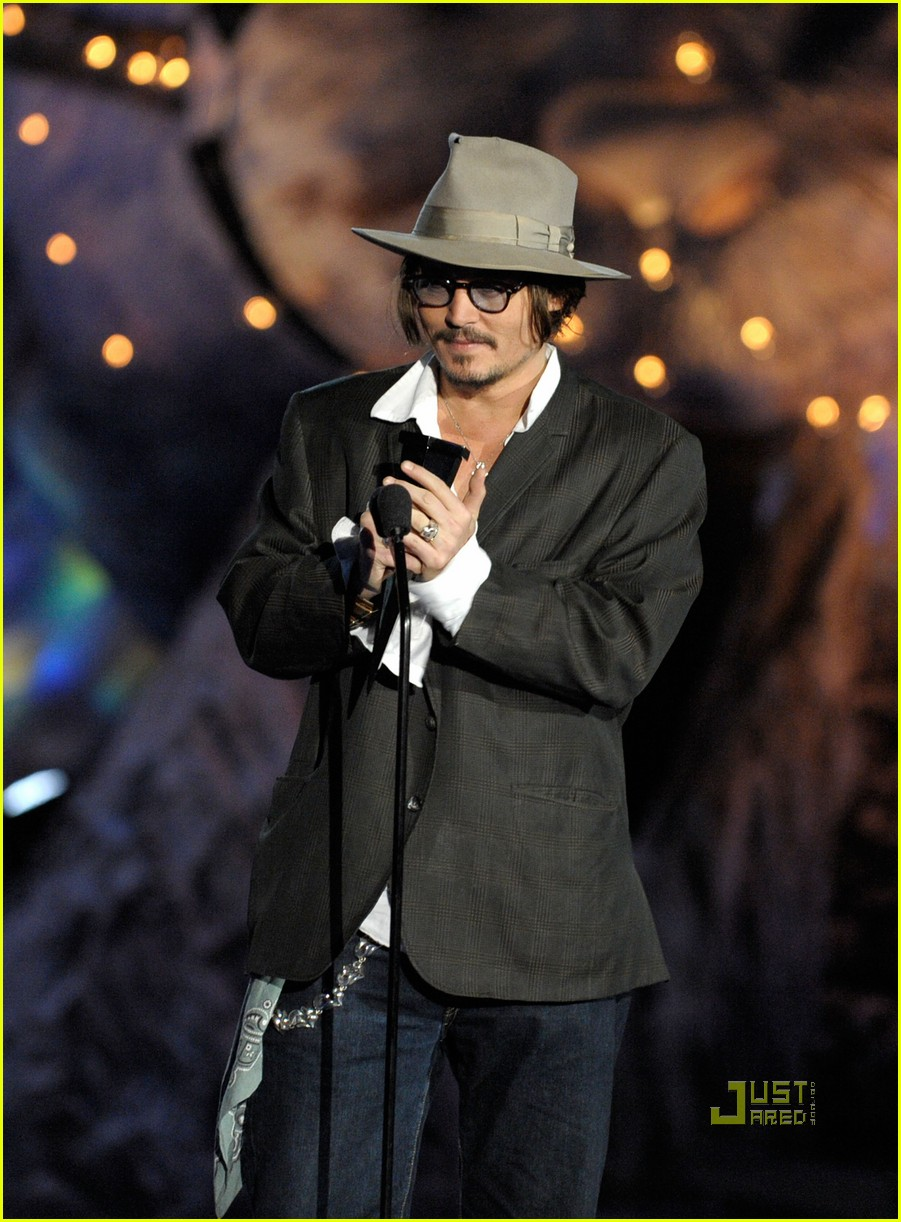 johnny depp keith richards rock immortal scream awards 15