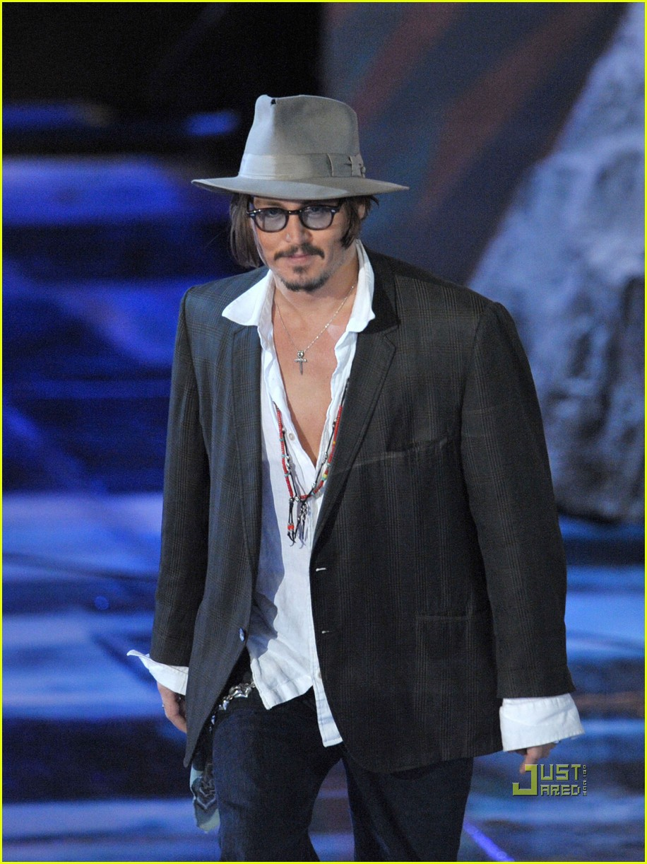 johnny depp keith richards rock immortal scream awards 19