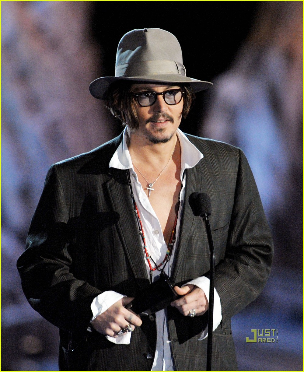 johnny depp keith richards rock immortal scream awards 23