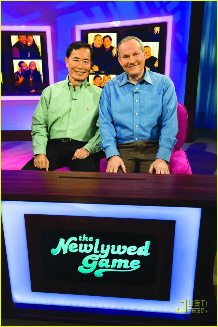george takei newlywed game brad altman 01