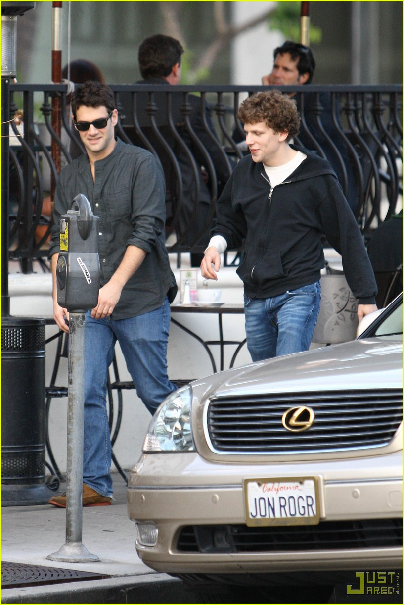 jesse eisenberg justin bartha lunch 10