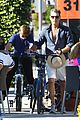 pierce brosnan beach bicycling 01