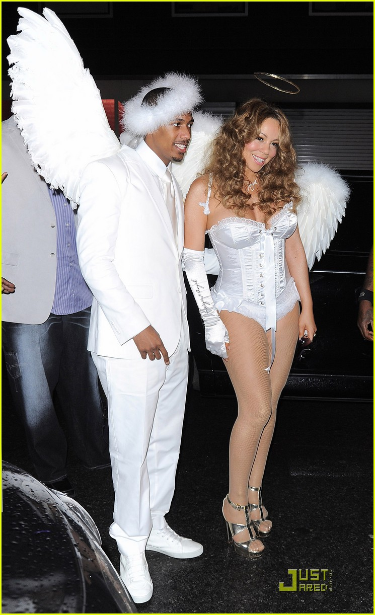 mariah carey nick cannon are angels 10