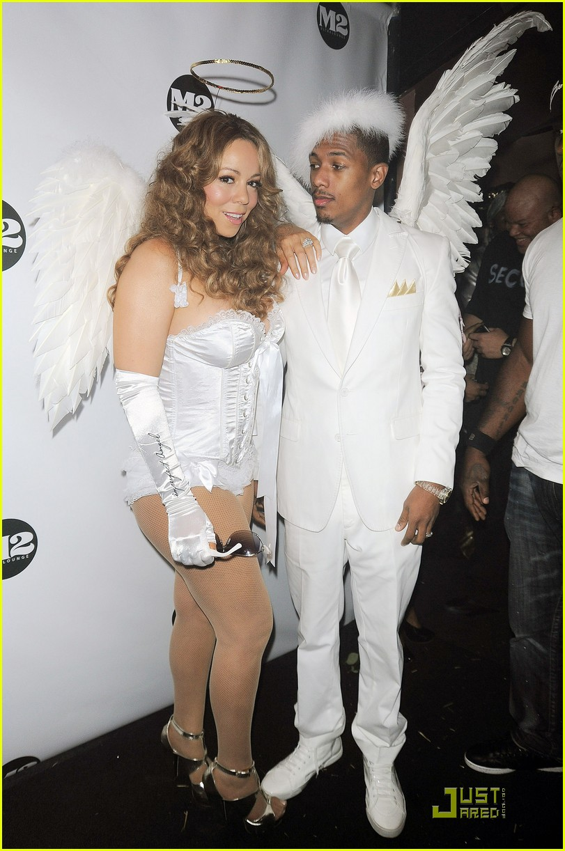 mariah carey nick cannon are angels 142327542