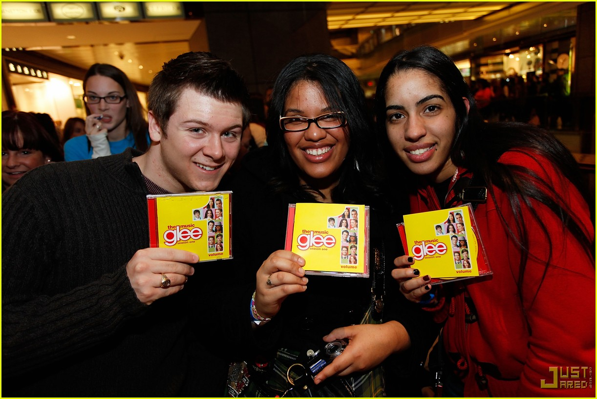glee cast autograph signings 30