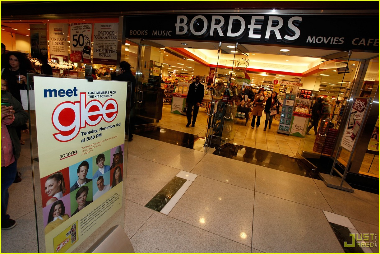 glee cast autograph signings 32