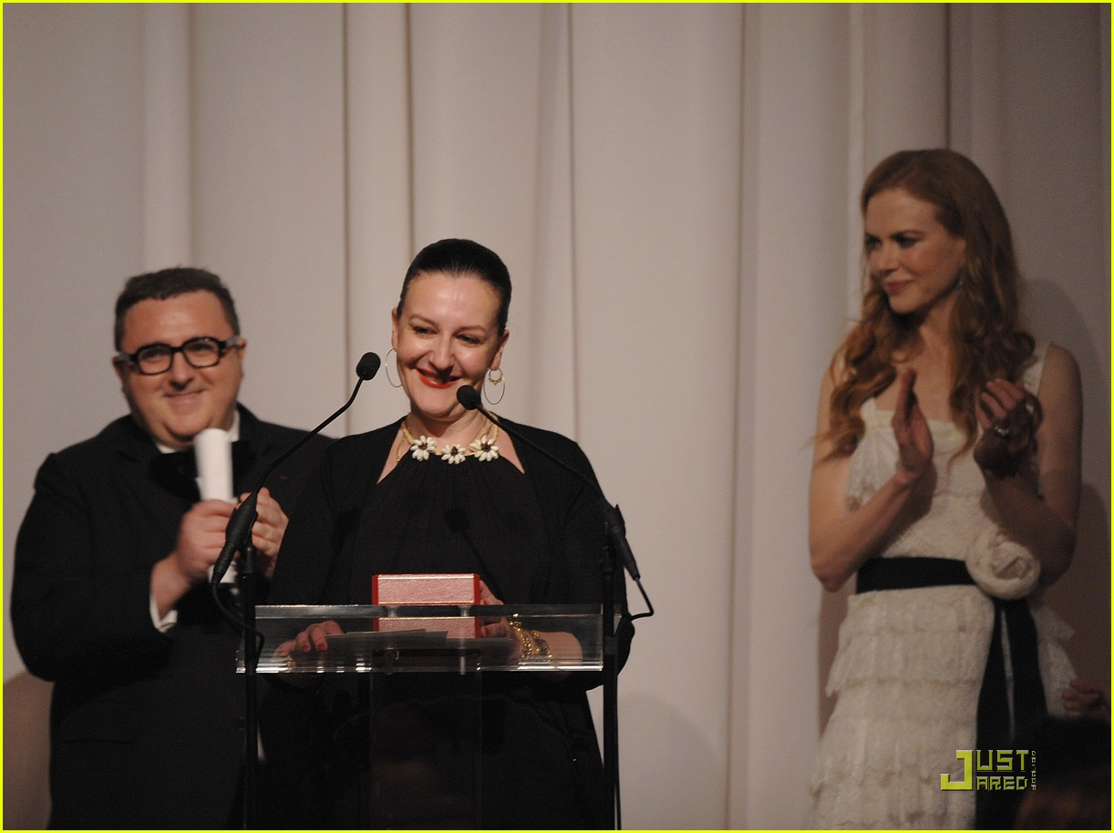 nicole kidman vogue fashion fund awards 15