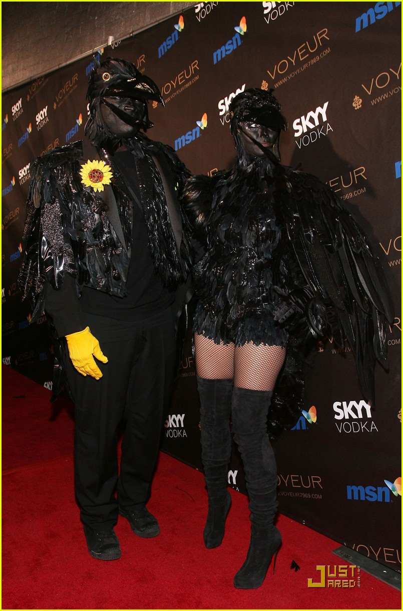 heidi klum seal black crows 10