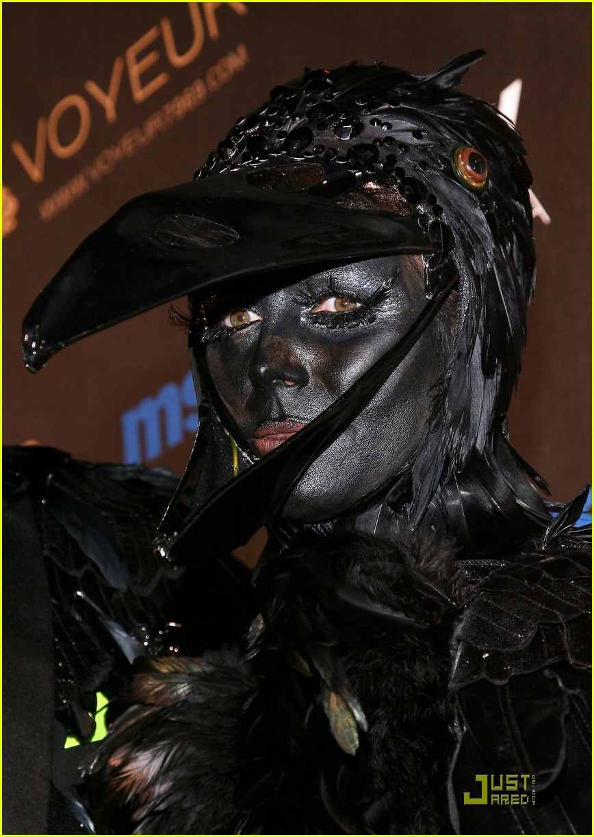heidi klum seal black crows 11
