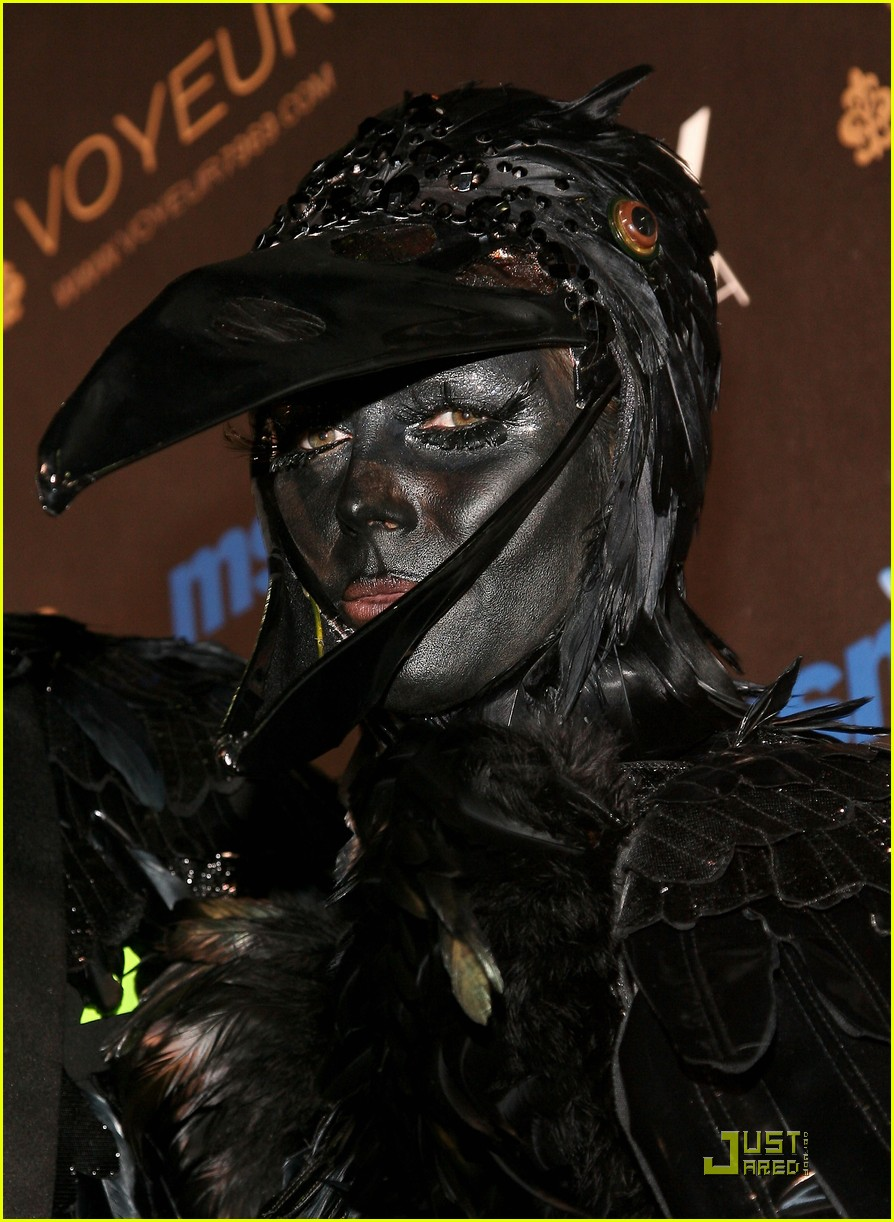 heidi klum seal black crows 14