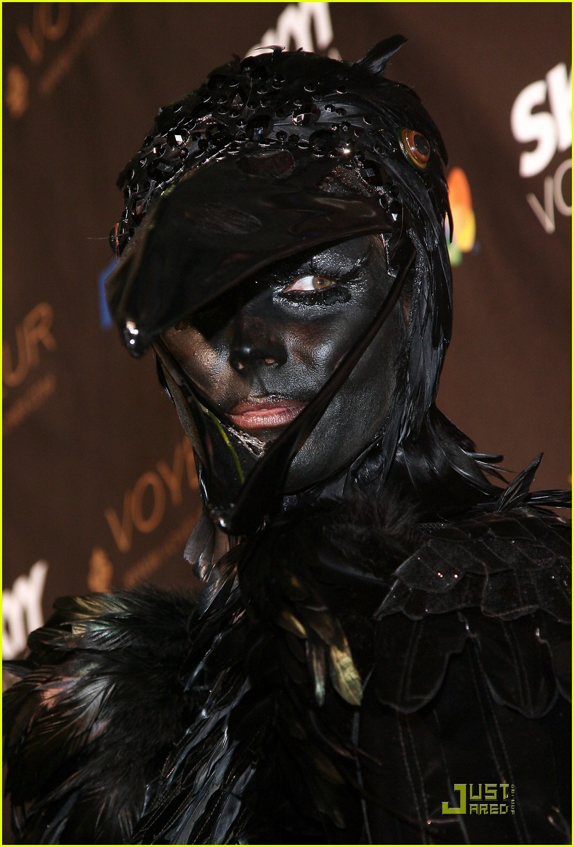 heidi klum seal black crows 16