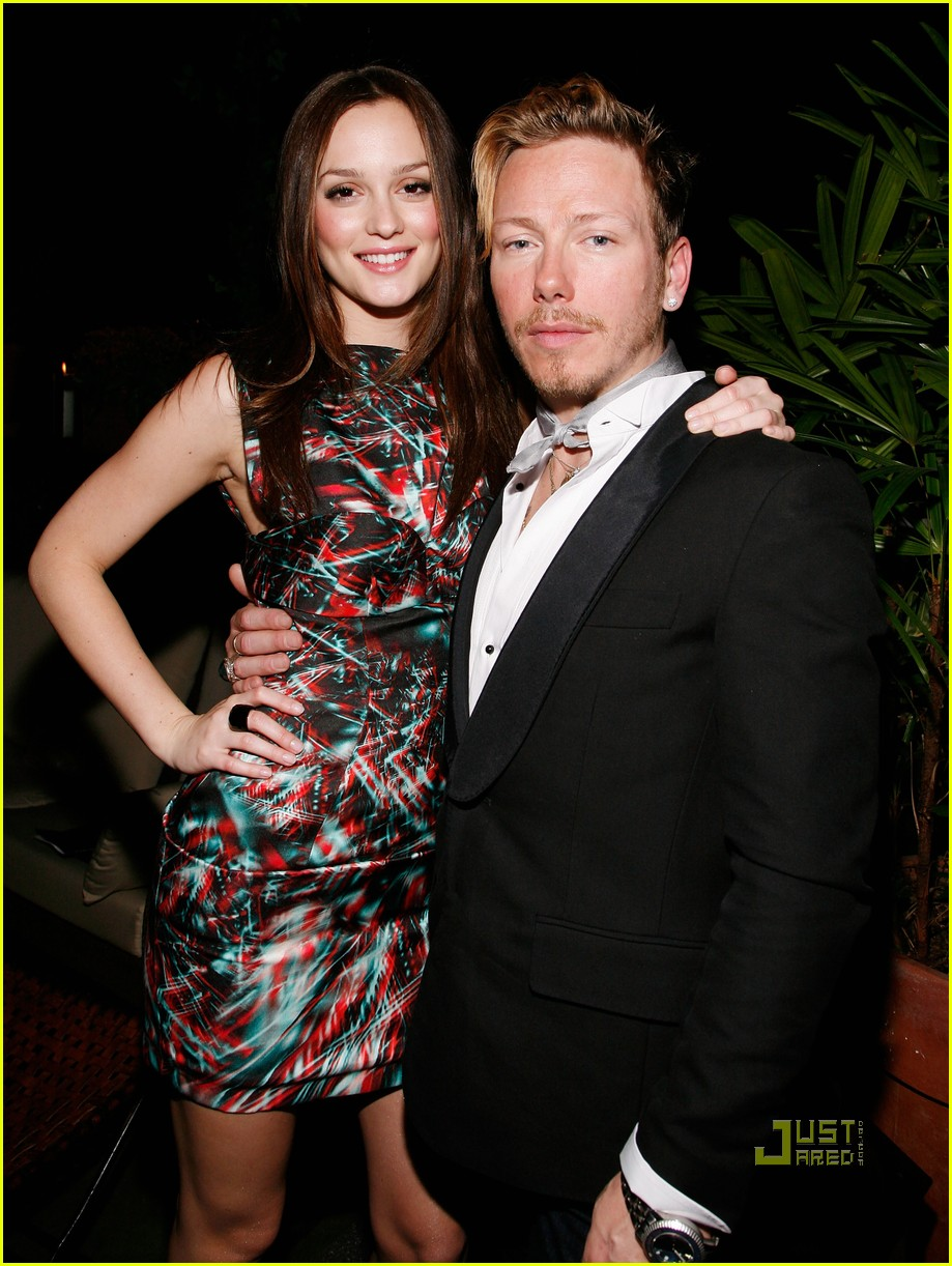 Full Sized Photo of leighton meester eric daman book launch 04   Photo ...