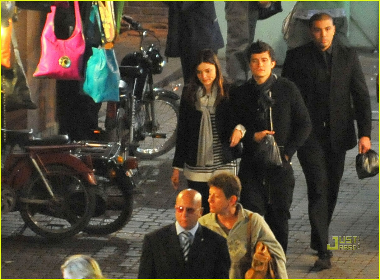 orlando bloom morocco london 132390121