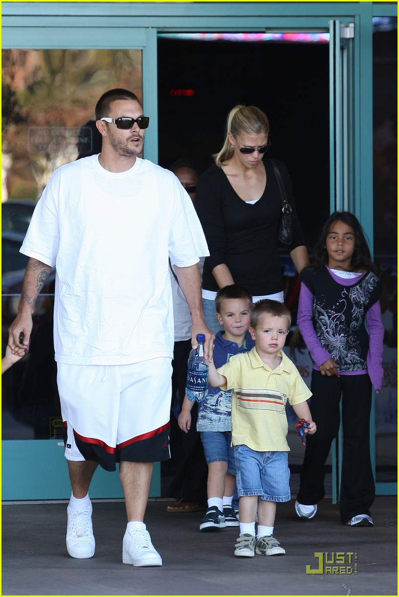 britney spears sons christmas 09