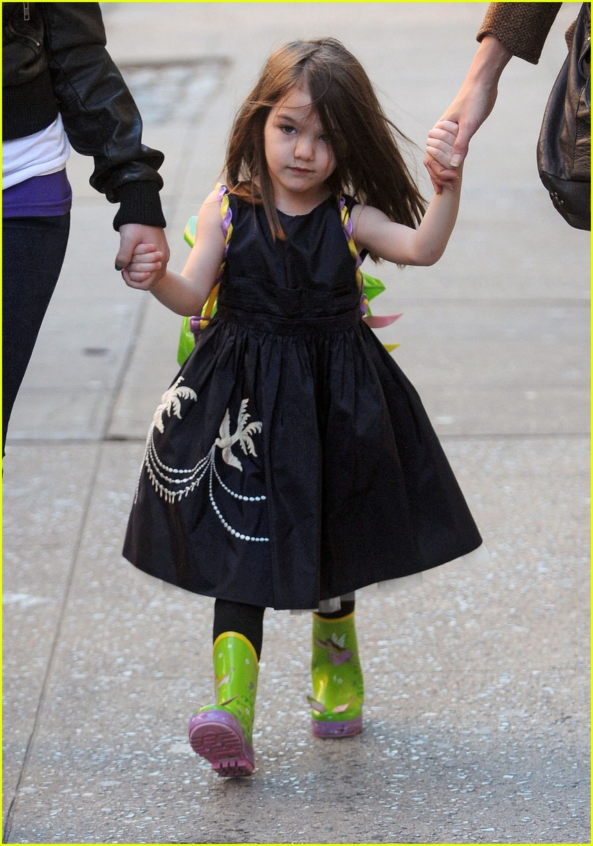 Katie Holmes and Suri Cruise's Cutest Photos | PEOPLE.com