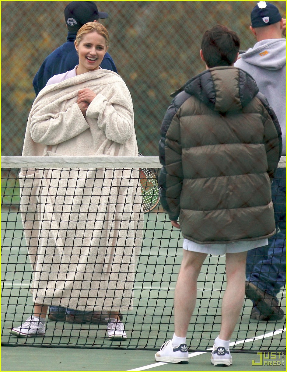 elijah wood dianna agron tennis team 01