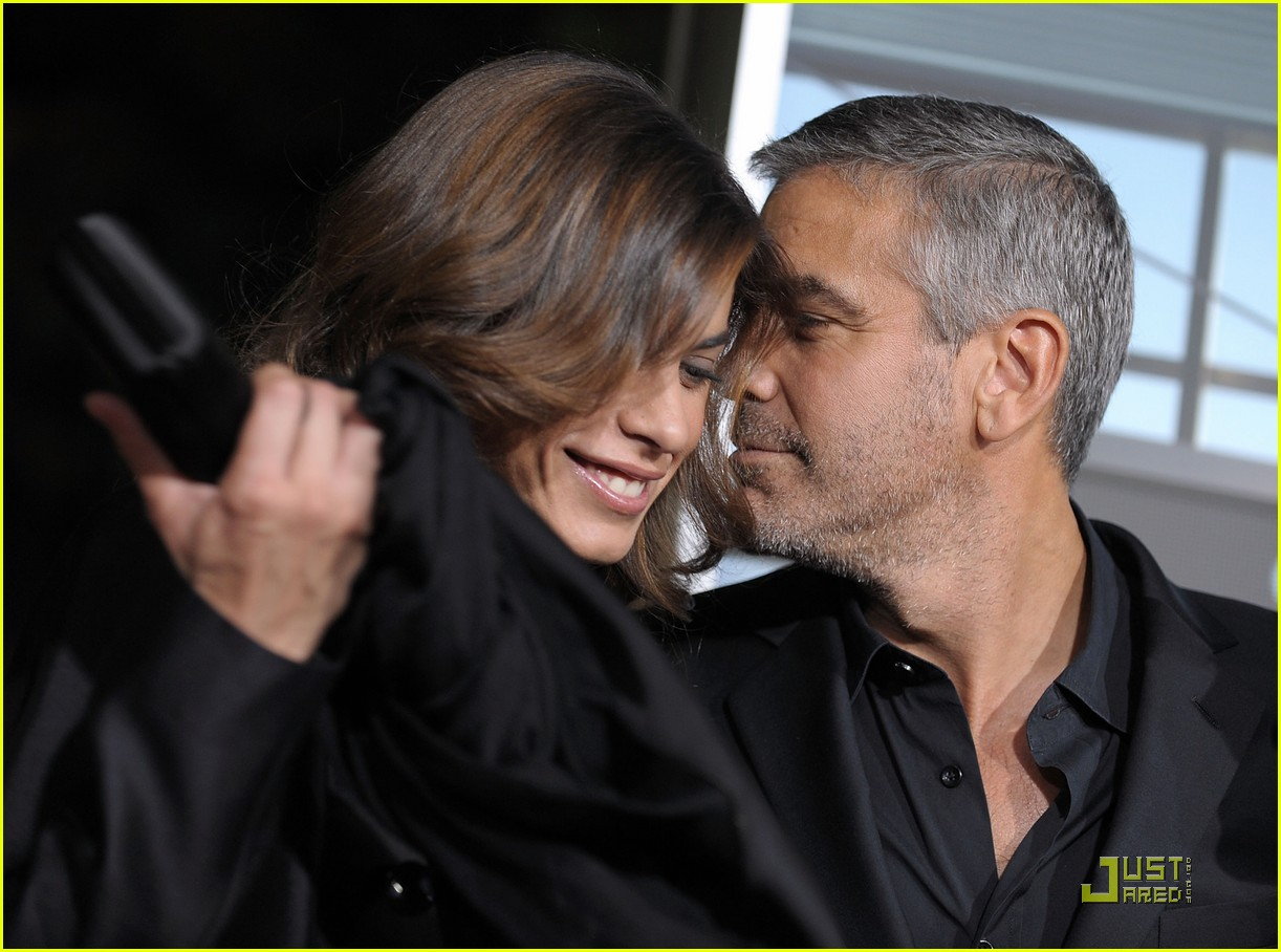 george clooney elisabetta canalis are up in the air again 01