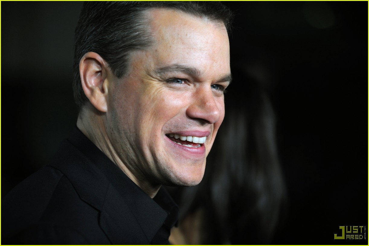 Matt Damon Invictus Matt Damon Invictus Premiere