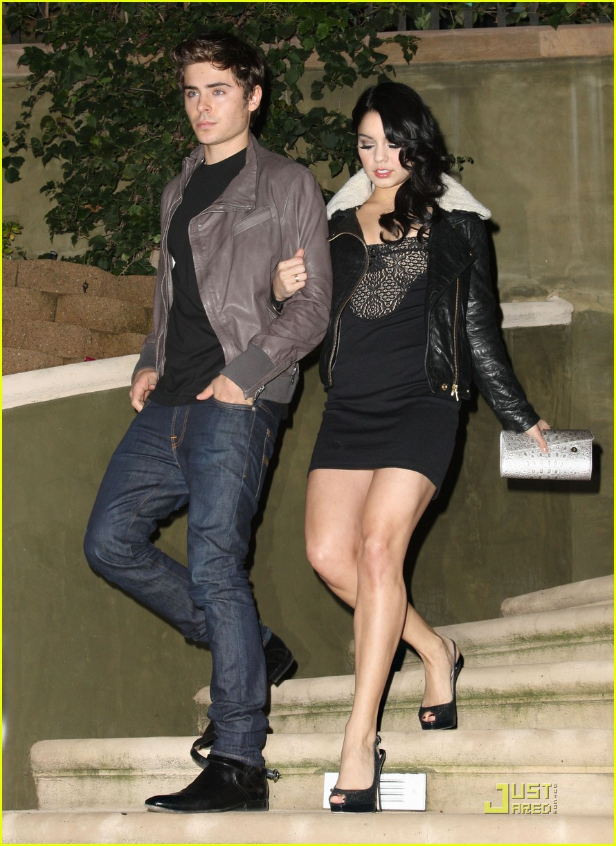 vanessa hudgens zac efron birthday bash 02