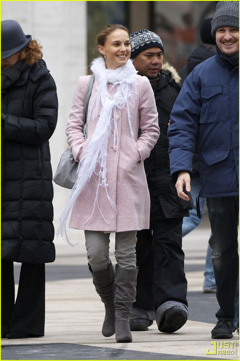 Full Sized Photo of natalie portman black swan filming 13 ... Mila Kunis