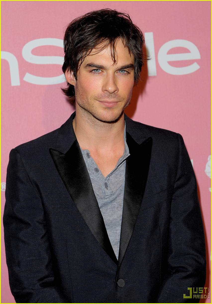 ian somerhalder golden globes party 092401389