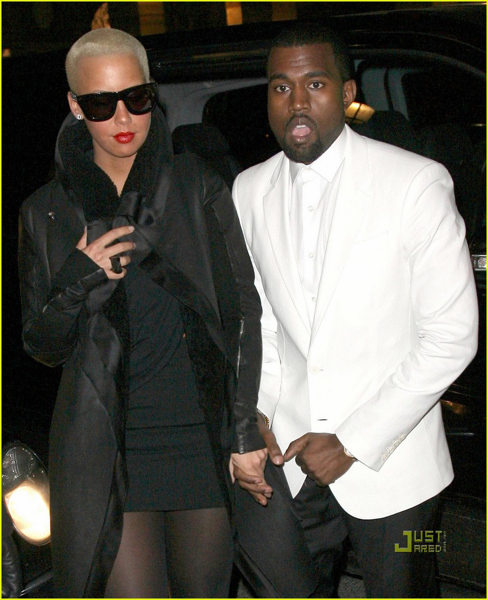 kanye west amber rose givenchy paris fashion week 05
