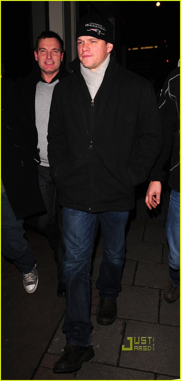 matt damon nobu london 05