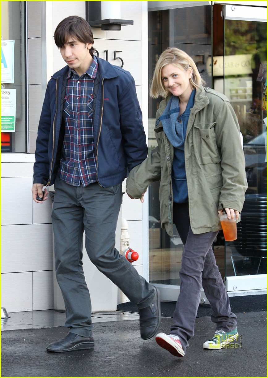 Drew Barrymore & Justin Long: Laying Low in Los Feliz Drew Barrymore